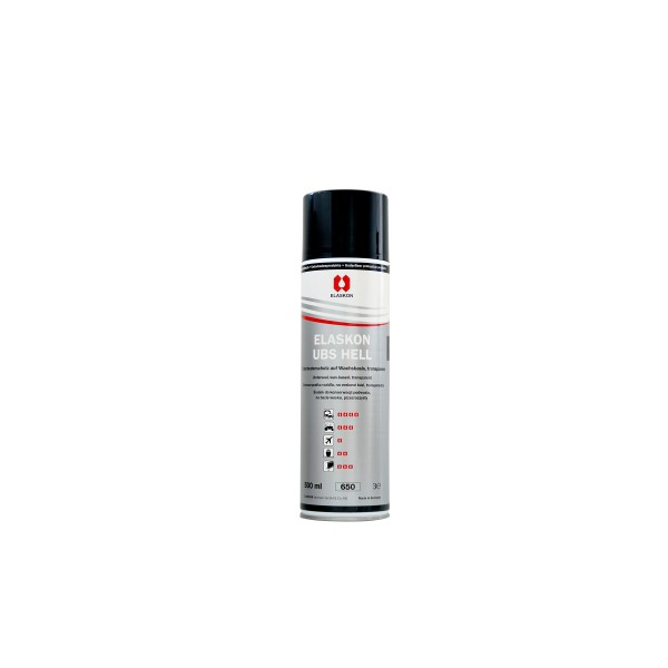 Elaskon UBS hell Spray in 500-ml-Aerosolflasche (12 St./Karton)